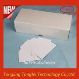 Cartão em branco e bandeja da identificação do PVC para a impressão do Inkjet