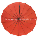 Рекламировать Straight Auto Open Golf Umbrella с Customer Logo Printing