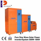 Off Grid 10kw Sistema de energia solar / gerador com bateria embutida 12V100ah / 150ah