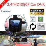 """Hete Verkoop 2.4 """" de Camera van de Auto HD1080p met Ntk96220; G-sensor; WDR; Functie dvr-2401 van de Visie van de nacht"""