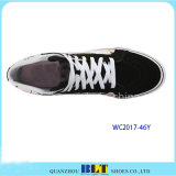 Clourful напечатало ботинки холстины для женщин