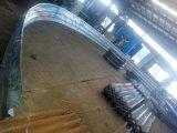 Tubo de acero acanalado galvanizado de la alcantarilla del diámetro grande del fabricante de China
