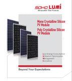 Poly panneaux cristallins d'énergie solaire de pouvoir vert (10W 20W 25W 6X6)