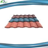 Tuile de toiture espagnole enduite en pierre de vente chaude de tuile de toit de tuile de toiture en métal