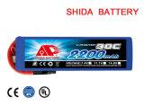Batteria 2200mAh 7.4V del polimero del litio di tasso alto RC di Multicopter Fpv
