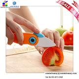 Cuchillo Pocket plegable de cerámica para el corte de la fruta
