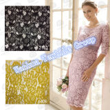 Wholesele Crochet Elastic Lace für Fashion Dress Lace