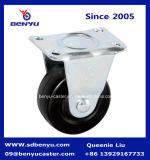 耐久の堅いゴム旋回装置の足車の車輪