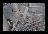 Grate d'acciaio galvanizzate del TUFFO caldo di uso della mensola