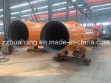 Preço pequeno do equipamento do secador giratório do cilindro da serragem