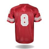 Futebol feito sob encomenda Jersey da forma do desgaste dos esportes do fabricante da camisa do futebol