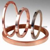 Bande plate en métal produite avec l'alliage d'argent de cuivre et