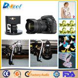 Tela do tamanho da máquina de estaca do laser da câmera do CCD grandes/couro/cortador visuais do logotipo/etiqueta/pano