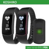 Montre de Pedometer de Bluetooth avec le moniteur du rythme cardiaque
