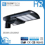 120W Shoebox 가벼운 LED 가로등 Dlc UL는 승인했다
