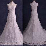 Laço Tulle Beads com Jacket Mermaid Wedding Dresses (TM-mm140)