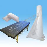 Rolo de papel descartável da folha de cama, rolo do sofá da massagem