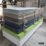 Superficie sólida de acrílico modificada blanco puro del precio de fábrica de Kkr