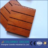 Robusto & impato - painéis interiores padrão de madeira dourados resistentes do N-F