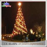 LED-Garten, der super helle Weihnachtsdekoration-riesiges Weihnachtsbaum-Licht beleuchtet