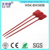 China-Plastikverschluss-Fabrik-Verkaufs-Metaleinlage-Zug-feste justierbare Längen-Plastikdichtung