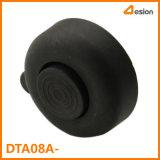 黒いカラーの49.5mmの直径のプラスチックフィート