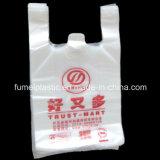 Sacchetti poli liberi di plastica impaccanti della maglietta di acquisto di abitudine
