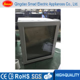 Mini frigorifero della barra dell'hotel termoelettrico di vetro bianco del portello