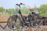 2017 bicicleta elétrica da cidade nova do projeto 36V 250W com 7-Speed Derailleur