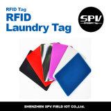 Extranjero impermeable H3 ISO18000-6c del silicón de la frecuencia ultraelevada de la etiqueta del lavadero de RFID