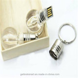 USB exquisito Flash Disk de Plastic Bulb con Various Colour