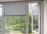 Finestra provvista di cardini stoffa per tendine di alluminio bianca di profilo di alta qualità