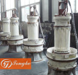 Pompa per acque luride sommergibile di grande capienza verticale per irrigazione