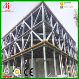 Stahlkonstruktion-Aufbau-Werkstätten