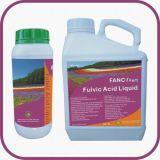 Puro Soluble Orgánico fúlvicos Ácido fertilizante líquido