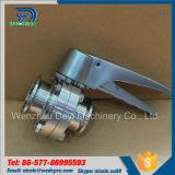 Manufactory aço inoxidável TriClamp Limitado sanitárias válvulas de borboleta