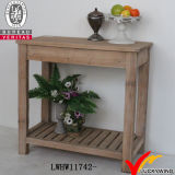 3 gavetas Shabby Wood Console Table White