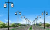 Luz solar los 3m del jardín del precio de fábrica