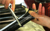 Boyau en caoutchouc tressé de fil d'acier