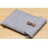 De kwaliteit en de Hoeveelheid verzekerden Met de hand gemaakte Gevoelde iPad Zak