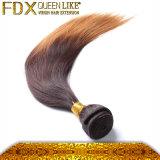 工場価格の毛の拡張膚触りがよくまっすぐなブラジルのOmbreの織り方の毛