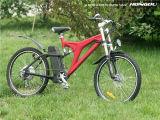 大人のための電池式のバイクが付いているペダルが付いている電気バイク