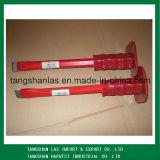 Кузнечное зубило для рубки в холодном состоянии зубильной стали с пластичным сжатием