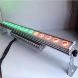 Indicatore luminoso lineare impermeabile esterno della barra della rondella della parete di DMX 14*30W LED