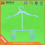 Estilo e roupa do indicador que vestem o tipo gancho de revestimento plástico