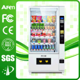 Coin Operated Bottled Water Vending Machine with LCD Player