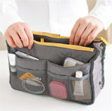 Fashion Multifunctional Portable Organizer Cosmetic Nylon Travel Handbag (YB2204)