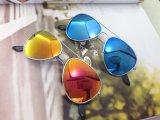 O frame circular, estilo bonito, elegante caçoa os óculos de sol (M01053)