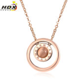 Modo Jewelry Stainless Steel Jewelry Necklace Pendant Female Necklace (hdx1019)