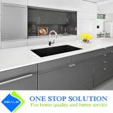 Alta mobilia modulare moderna degli armadi da cucina di rivestimento della lacca di lucentezza